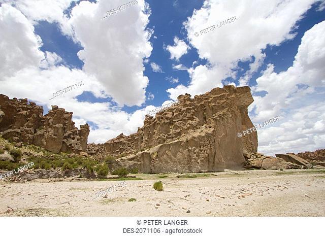 Enchanted City Of Stone Rock Formation, Pumiri, Oruro, Bolivia