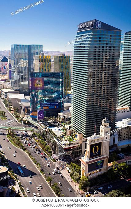 USA-Nevada-Las Vegas City-The Strip Avenue-
