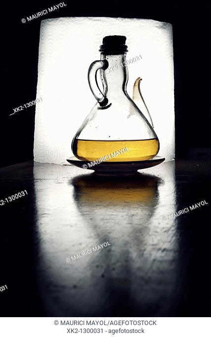 aceitera de aceite de oliva virgen / setrill d'oli d'oliva verge