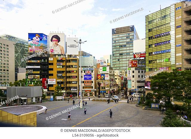 Shopping Area Tokyo Japan Asia