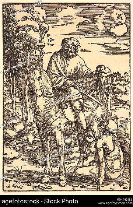 St. Martin. Artist: Hans Baldung (called Hans Baldung Grien) (German, Schwäbisch Gmünd (?) 1484/85-1545 Strasbourg (Strassburg)); Medium: Woodcut; Dimensions:...