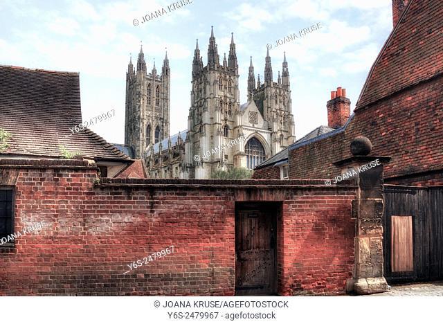 Canterbury Cathedral, Canterbury, Kent, England, United Kingdom