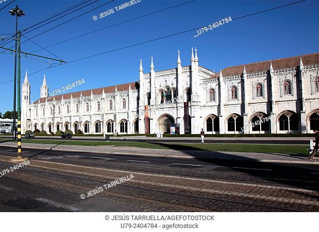 Jeronimos Monastery. Belem. Lisbon. Portugal