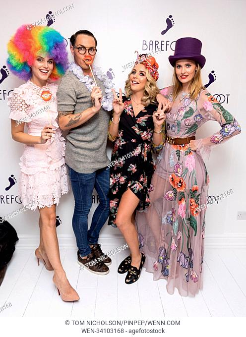 Barefoot House of Sole party, a celebration of self expression held at Soho's 19 Greek Street Featuring: Bobby Norris, Lydia Bright, Charlotte De Carle