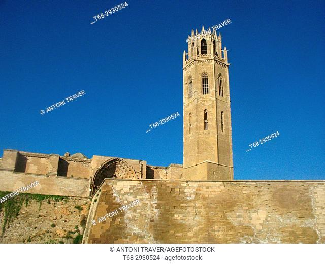Old Cathedral of Lleida (La Seu Vella), Lleida, Spain