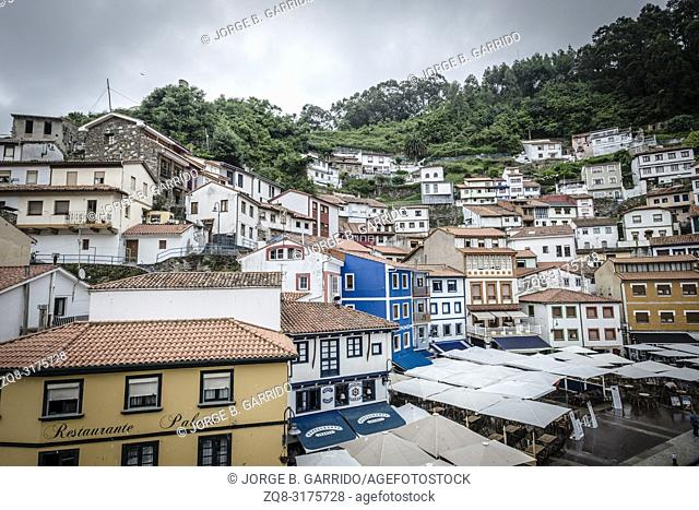 Cudillero, small and beautiful fishing village in Asturias, Spain