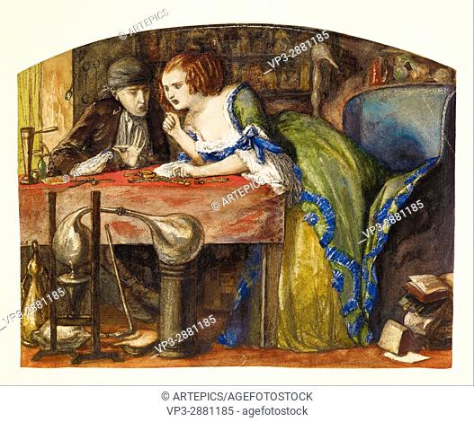Dante Gabriel Rossetti - The Laboratory - Birmingham Museum and Art Gallery