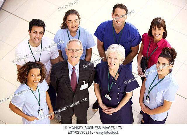 Portrait Of Hospital Medical Team