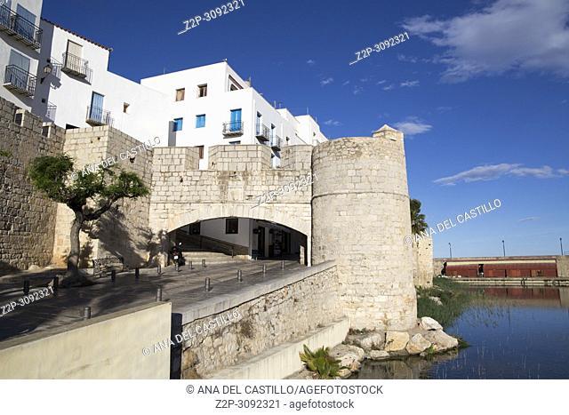 Peniscola medieval village in. Castellon province, Spain
