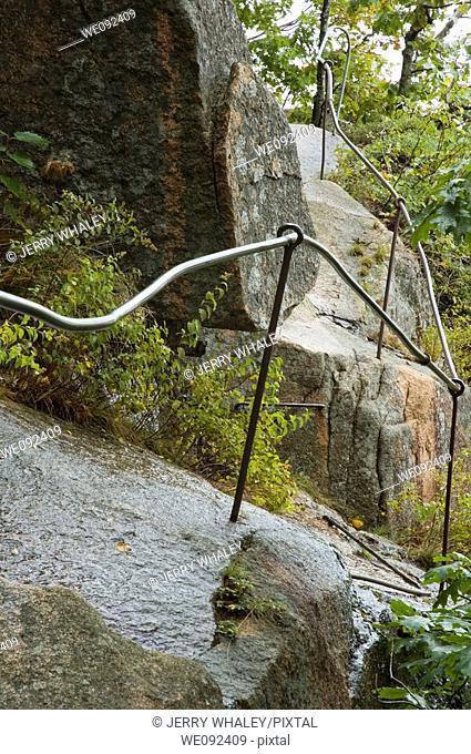 Precipice Trail, Acadia Nat  Park, Maine
