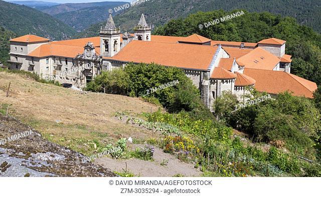 Monasterio de San Estevo de Ribas de Sil (parador de turismo). Ourense. Galicia. Spain
