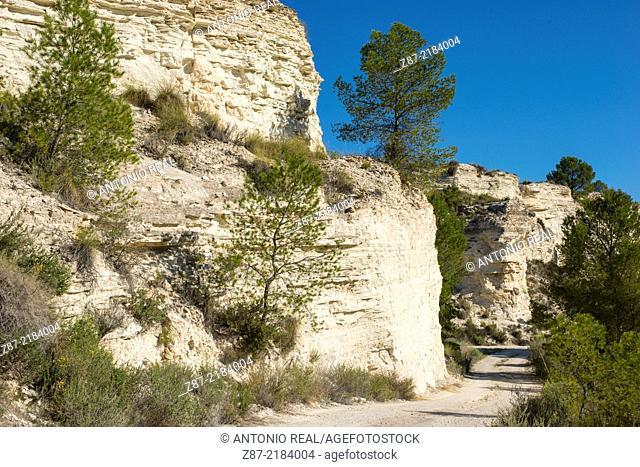 Micro reserve Yesares de Hellín, Hellín, Albacete province, Castilla-La Mancha, Spain