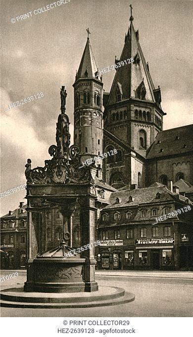'Mainz - Cathedral Towers', 1931. Artist: Kurt Hielscher