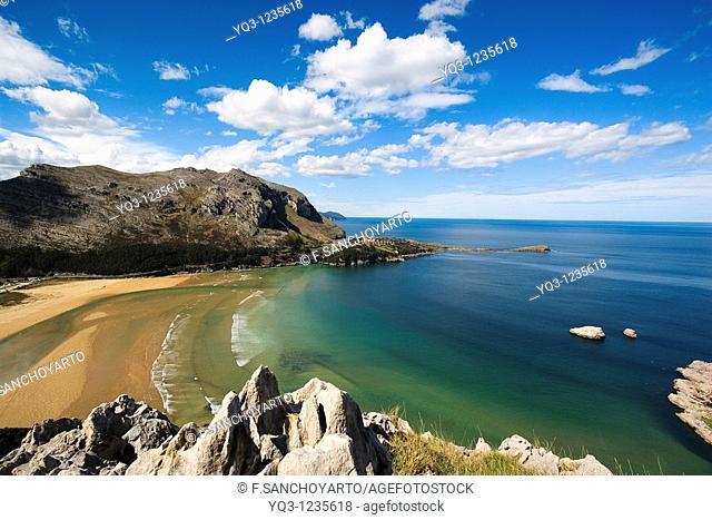 Oriñón beach, Castro Urdiales, Cantabria, Spain