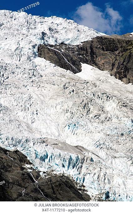 Jostedalsbreen Glacier from Briksdal, Jostedal Glacier National Park, Western Norway