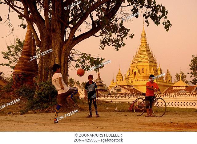 ASIA MYANMAR NYAUNGSHWE SOCCER FOOTBALL