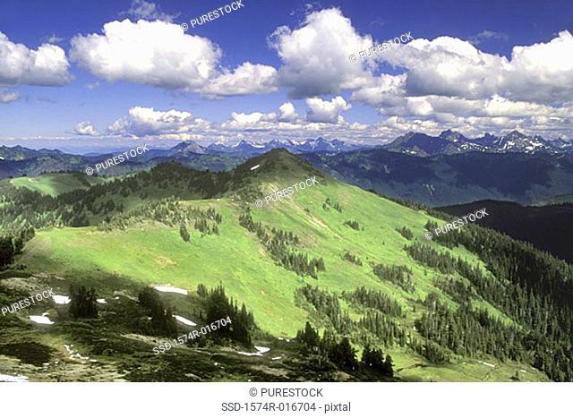 Mount Baker Wilderness Washington USA
