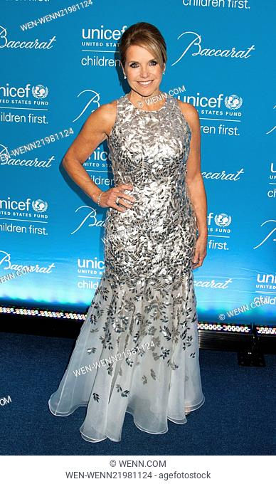 Unicef Snowflake Ball 2014 Featuring: Katie Couric Where: New York, New York, United States When: 02 Dec 2014 Credit: WENN.com