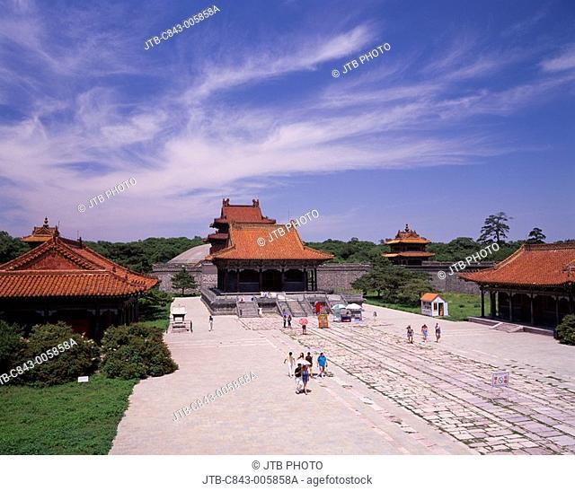 Zhao ling park, Shenyang, Liaoning province, China
