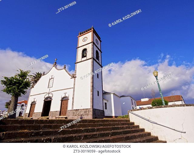 Main Church, Vila do Porto, Santa Maria Island, Azores, Portugal