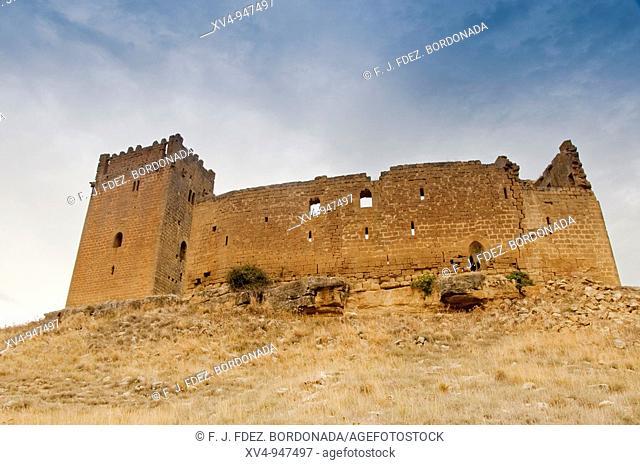 Yéquera Castle in Luna  S  XI  Alfonso I el Batallador  Luna, Cinco Villas, Aragón  Spain