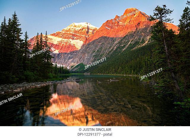 Mount Edith Cavelle in Jasper National Park; Alberta, Canada