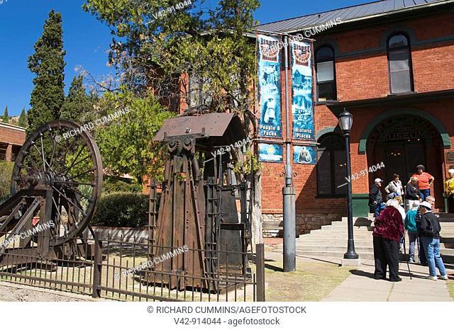 Bisbee Mining & Historical Museum, Bisbee Mining Town, Cochise County, Arizona, USA