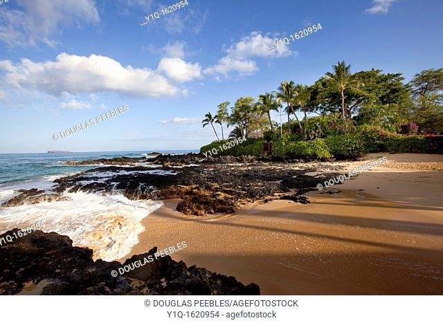 Pa'ako Beach, Makena, Maui, Hawaii