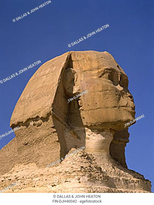 Egypt, Cairo, Giza, The Sphinx