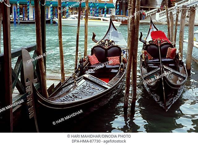 Gondola , Venice , Italy Europe