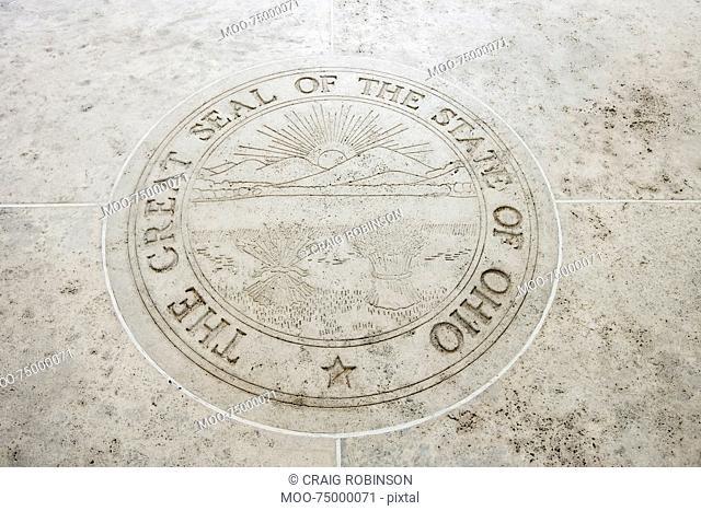 Seal of Ohio in Fort Bonifacio, Manila, Philippines