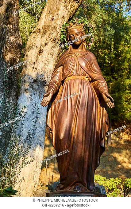 Turkey, Izmir province, Selcuk city, house of Virgin Mary