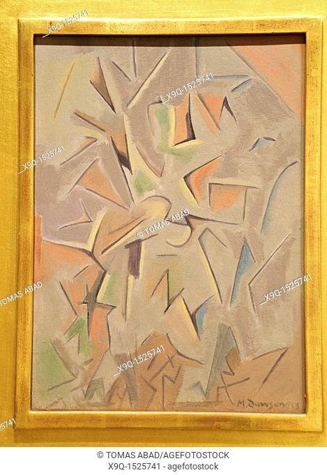 Meditation, 1913, by Manierre Dawson, American, Oil on wood panel, 16 x 11 3/4 in , 40 6 x 29 8 cm, Metropolitan Museum of Art, Modern Art Galleries