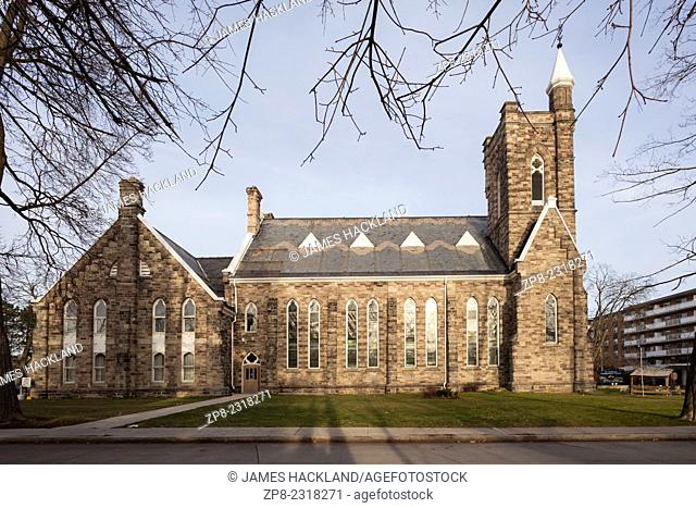 St. Andrew's Presbytarian Church in downtown Brampton, Ontario, Canada