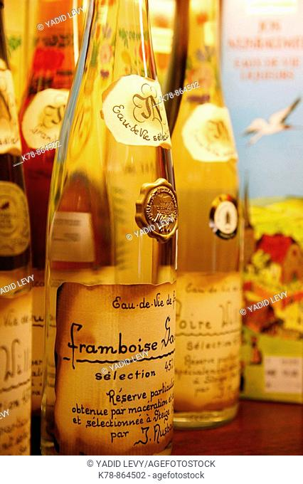 Sep 2008 - Bottles of Framboise, Alsace, France