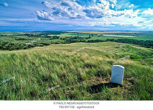 USA, Montana, Little Bighorn Battlefield