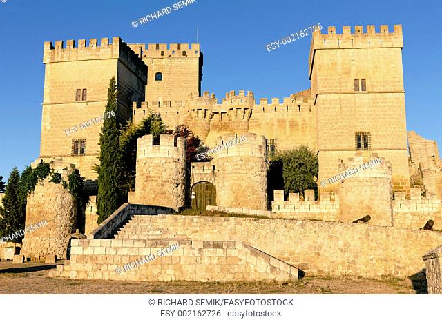 Castle of Ampudia, Castile and Leon, Spain