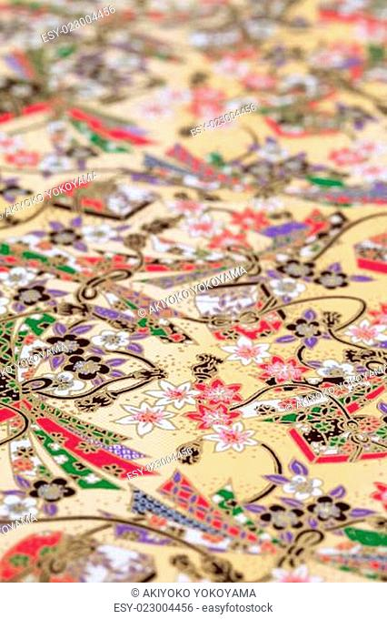 Traditional Japanese pattern paper
