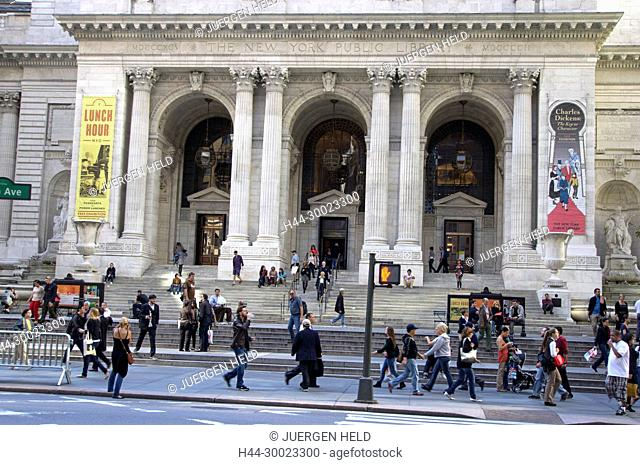 The New York Public Library, Midtown Manhattan, New York City