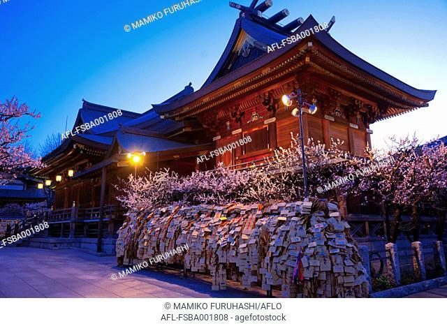 Yushima Tenjin Shrine, Tokyo, Japan