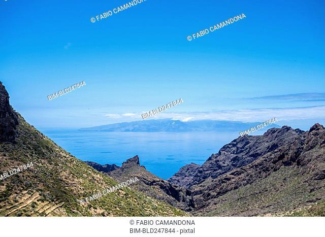 Scenic view of seascape