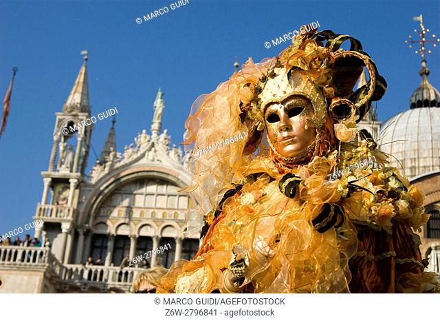 Elegant and evocative of the traditional masks of venice Italy carnival
