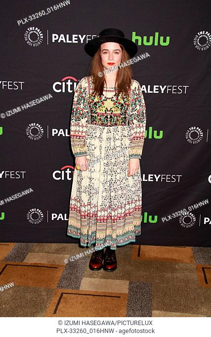 "Renée Felice Smith 03/21/2017 PaleyFest 2017 """"NCIS: Los Angeles"""" held at The Dolby Theatre in Hollywood, CA Photo by Izumi Hasegawa / HNW / PictureLux"