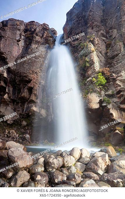 Taranaki falls, Tongariro National Park, North Island, New Zealand