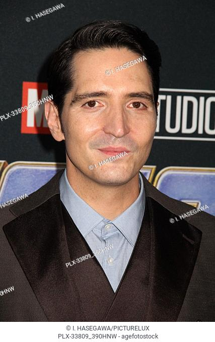"""David Dastmalchian 04/22/2019 The world premiere of Marvel Studios' """"""""Avengers: Endgame"""""""" held at The Los Angeles Convention Center in Los Angeles, CA"""