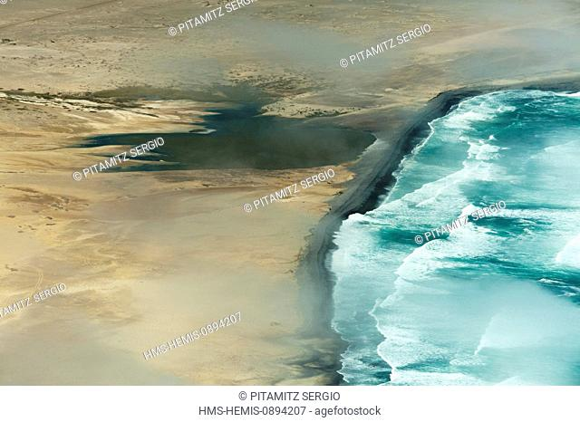 Namibia, Skeleton Coast (aerial view)