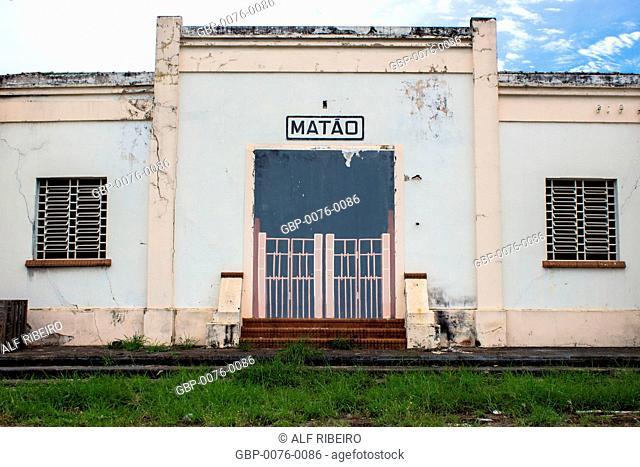 Matão Train Station, Matão, São Paulo, Brazil