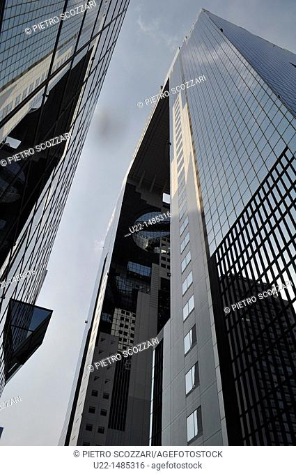 Osaka (Japan): the Umeda Sky Building
