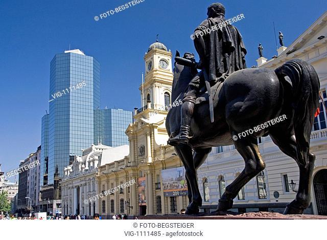 Plaza de Armas, Santiago de Chile, South America - Santiago de Chile, Chile, 11/02/2009