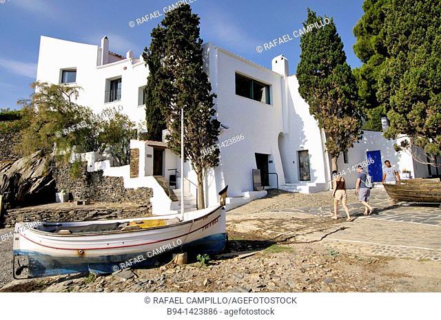Casa-Museo Salvador Dalí. Port Lligat, small village located in a small bay on Cap de Creus peninsula, on the Costa Brava of the Mediterranean Sea